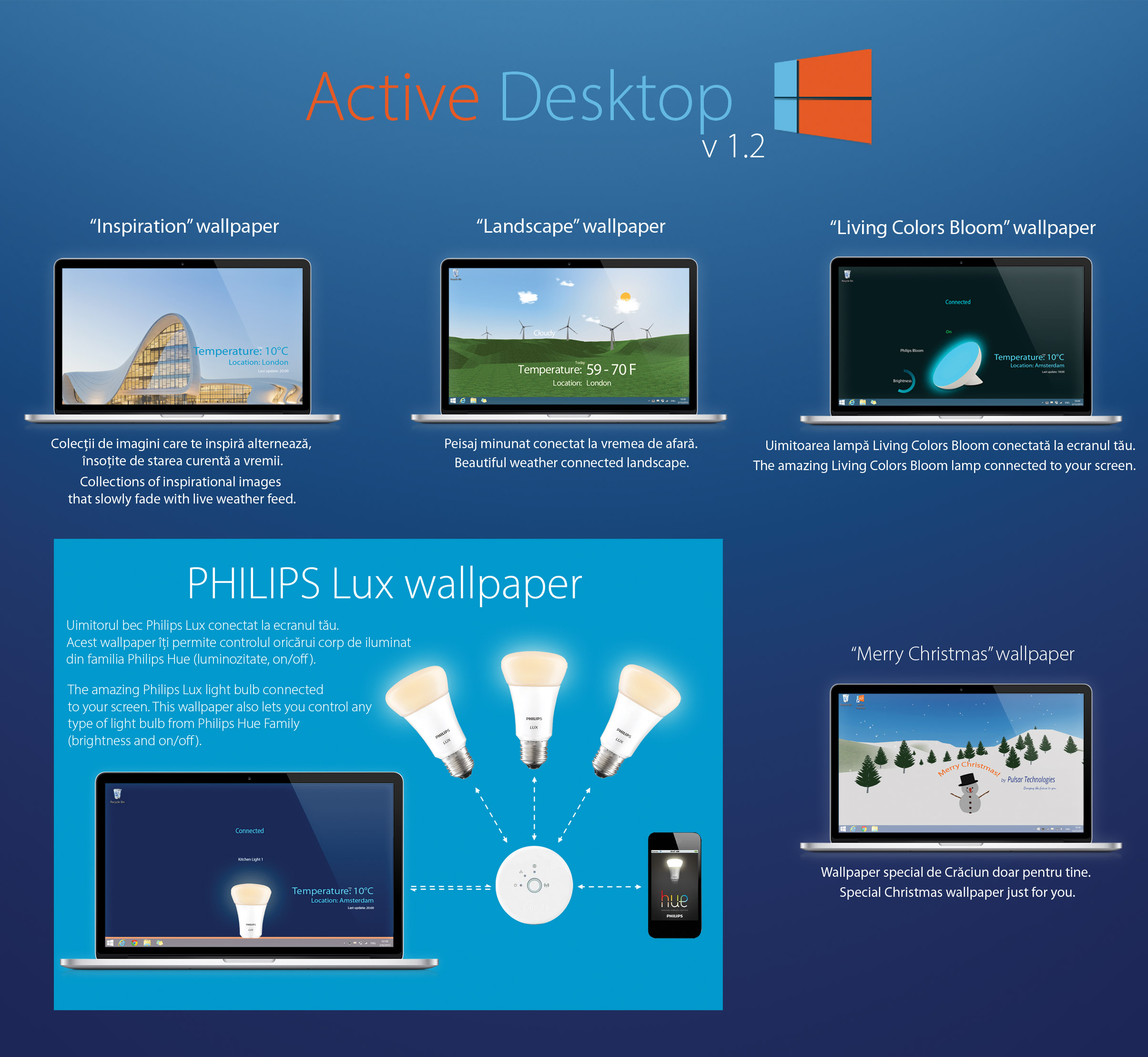 Active Desktop banner